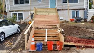 outdoor stairway orangeburg