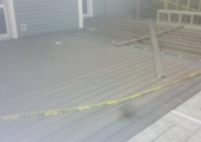 Deck Before